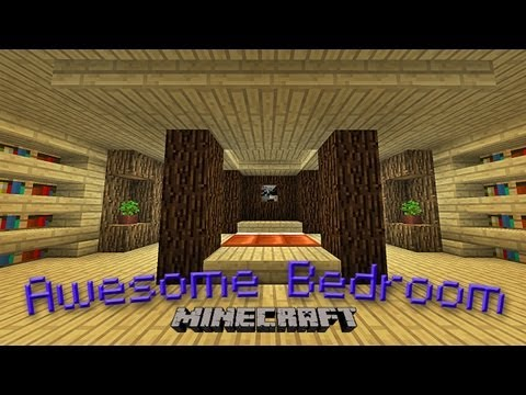 Minecraft:  How To Make An Awesome Bedroom Design