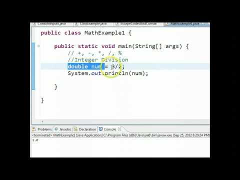 Java - Integer Division
