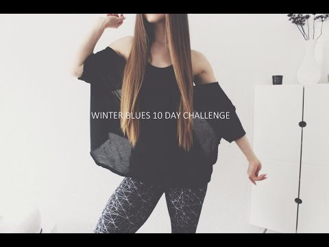 Winter Blues 10 Day Challenge ❤ Quick Energizing Pilates Workout