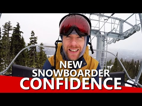 5 Ways New Snowboarders can Build Confidence