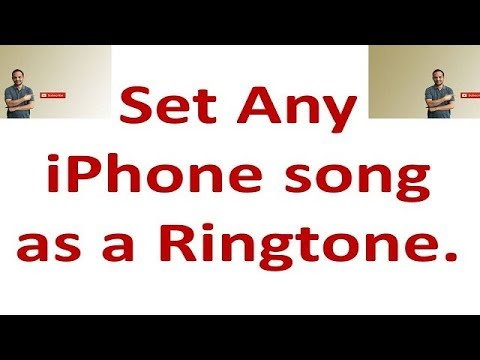 How to Set iPhone Music library songs as iPhone Ringtone