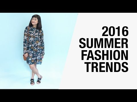 2016 Summer Fashion Trends - Bodysuits, Bandanas, Chintz, Platforms, Chokers | Chictopia