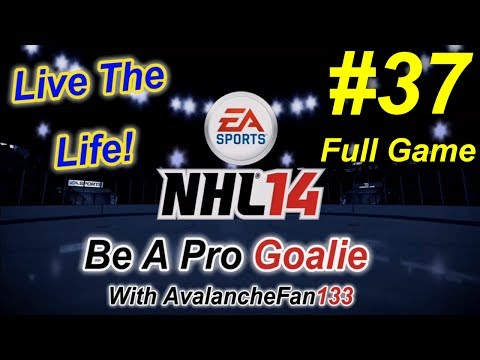 NHL 14 - Be A Pro - Goalie - Episode 37: Game 10 of My 5th Season *Full Game*