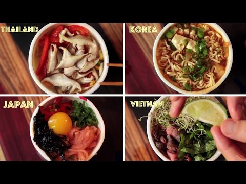 5 Creative Cup Noodle Creations