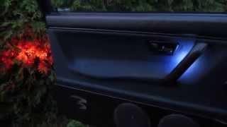 Door Panel LED Interior Lighting Audio Wire Budget Car MMD Design ✔