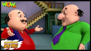 Motu Patlu New Episodes | Cartoons | Kids TV Shows | Motu The Encyclopedia | Wow Kidz