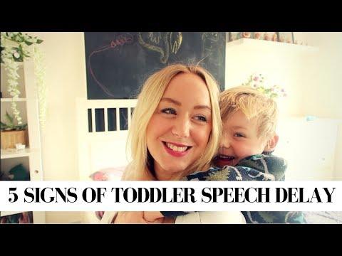 5 SIGNS OF TODDLER SPEECH DELAY | SJ STRUM