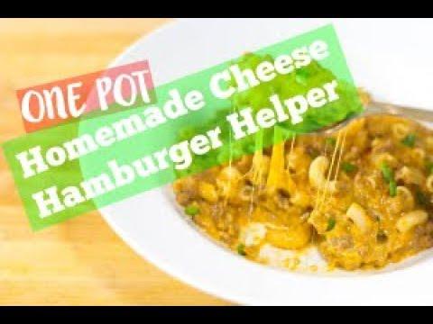 One-Pot Homemade Cheese Hamburger Helper