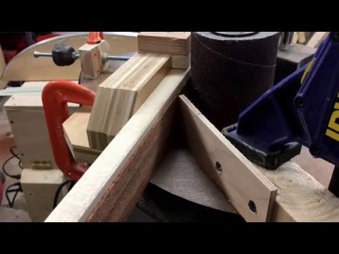 Bow lamination thicknessing jig