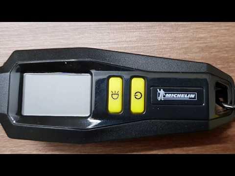 MICHELIN - 12290 | DIGITAL Tire Gauge| DIGITAL Display Tyre pressure Guage with metal Keychain |LED|