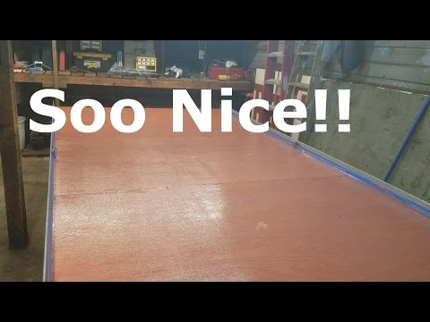 Replacing The Floor On A Trailer   Episode 344