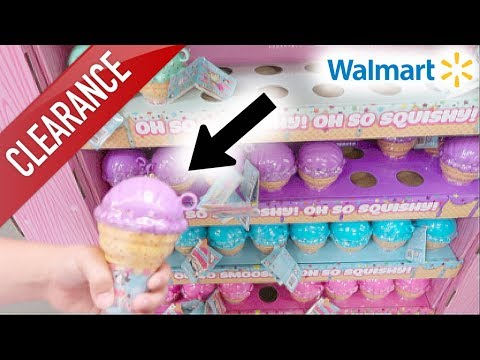 NEW LICENSED SQUISHIES, BLIND BAGS + MORE AT WALMART! SQUISHY CLEARANCE SALE!