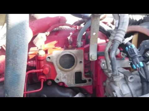 2011 Cummins isx 15 thermostat replacement