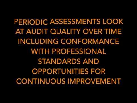 Internal Audit Quality Assurance and Improvement Program
