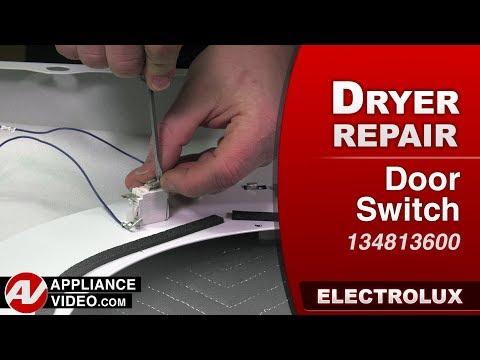Electrolux Dryer - Door Switch - Diagnostic & Repair