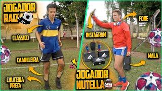 JOGADOR NUTELLA vs JOGADOR RAIZ