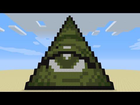 ILLUMINATI MINECRAFT - Only 3 Command Blocks