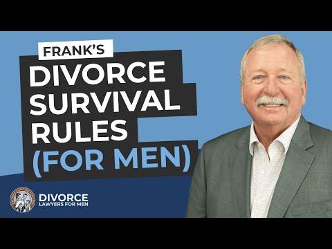 The Divorce Rules for Men