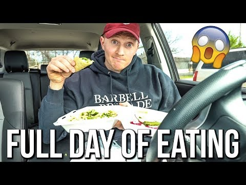 IIFYM DAY OF EATING | The Most I've Ever Weighed...Lean Bulk!
