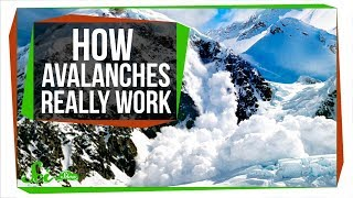 Why Real Avalanches Aren