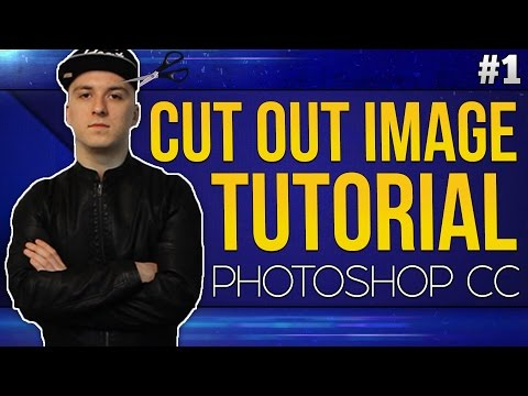 How To Cut Out An Image EASILY! - Photoshop CC 2017 - Tutorial #1