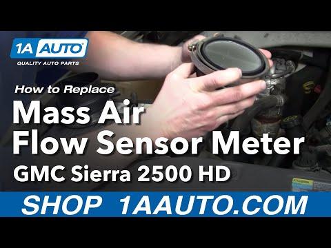 How To Install Replace Mass Air Flow Meter Sensor Chevy Silverado Tahoe Sierra 99-06 1AAuto.com
