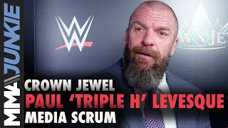 """Paul """"Triple H"""" Levesque discusses Cain Velasquez, Ronda Rousey"""