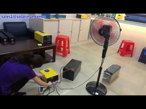 Inverter manufacturer pure sine wave inverter connecting way and test of the UPS function