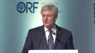 Harper Explains Something About Trump and The Chinese Communist Party in New Delhi - January 2017