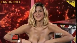 """Super Busty model Giselle Gómez Rolón in Argentinian """"TOC SHOW"""" [KANONI NET]"""