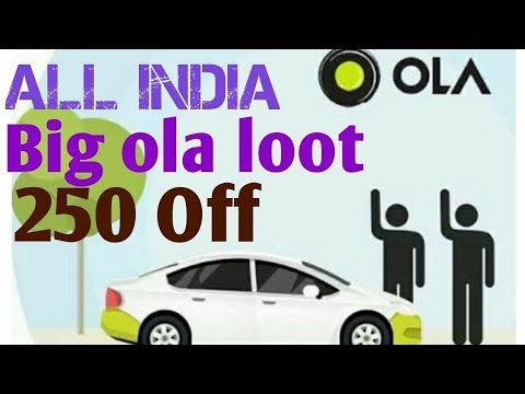 Ola 250off letest Promo !!loot