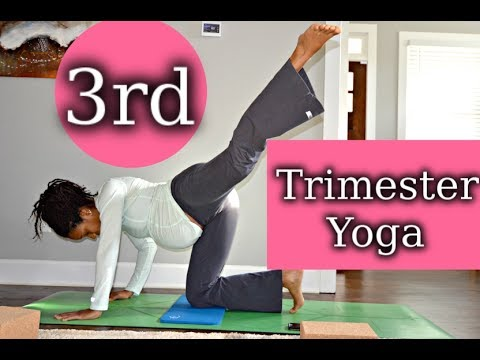 3rd Trimester Yoga Routine to Ease Body Aches! (Psoas, piriformis,legs, side body)