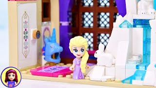 A bedroom for little Elsa - Custom Lego build DIY