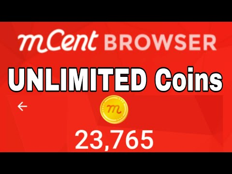 2018 Mcent Browser UNLIMITED coins 💰 hack Easy step. One minutes.