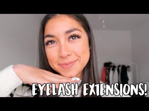 Eyelash Extensions + Training at Vive!! | Jeanine Amapola
