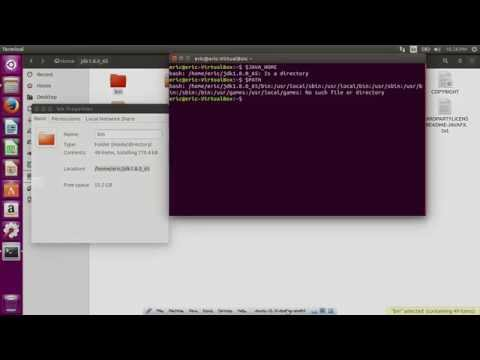 Setup JAVA_HOME and path to JDK8 on Ubuntu 15.10