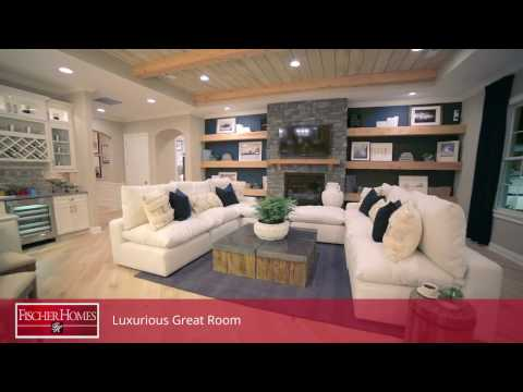 The Rookwood Floorplan by Fischer Homes | 2017 Indianapolis Home Show