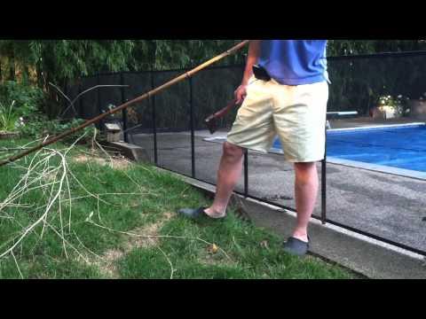 Making Bamboo Poles