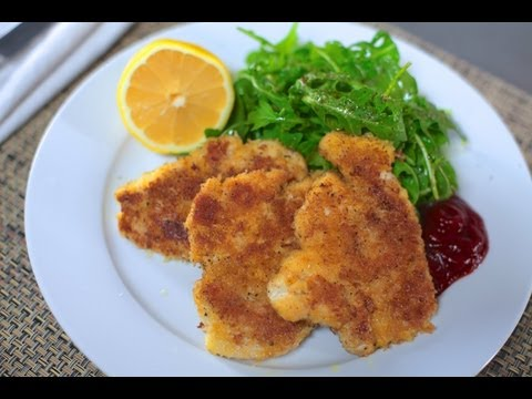 How to filet, bread and fry a Chicken Cutlet