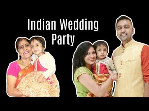 Indian Wedding Party .... #DIML | Shruti Arjun Anand