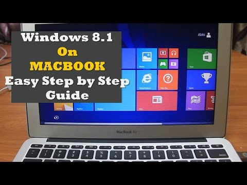 How to install Windows 8.1 on Macbook (Dual Boot) | Easy Step by Step Guide |