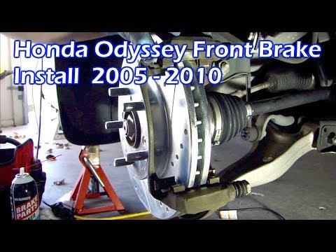 Honda Odyssey Front Brake Rotors & Pads Install 2005 - 2011