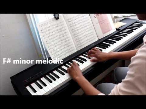 Grade 8 | Piano Scales ABRSM