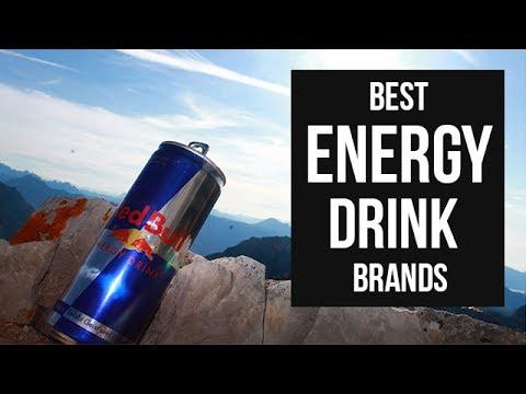 Top 5 Best Energy Drink Brands of 2017