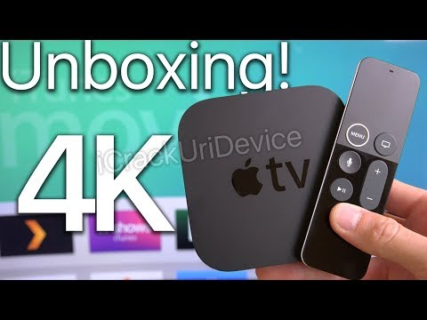 Apple TV 4K: Unboxing and Setup Review! (2017)