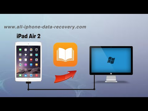 How to Backup iPad Air 2 PDF to PC, Export EPub Books from iPad Air 2 to Computer