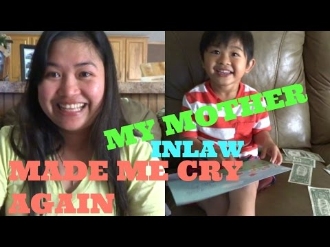 FILIPINA AMERICAN LIFE IN AMERICA | MY MOTHER INLAW MADE ME CRY AGAIN |(FIL-AM)