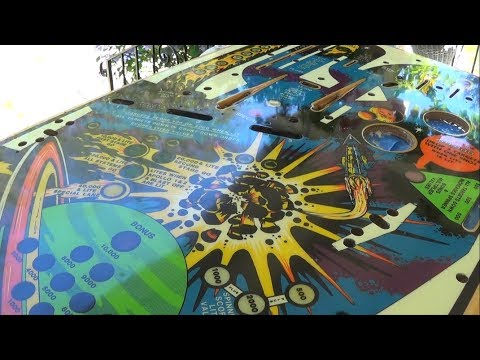 Flight 2000 Pinball Project (Part 7) - Playfield Clear Coating