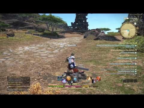 Final Fantasy XIV Beta Teste PS4