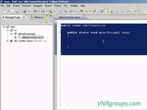 Java program connecting to oracle database (JDBC in Eclipse).